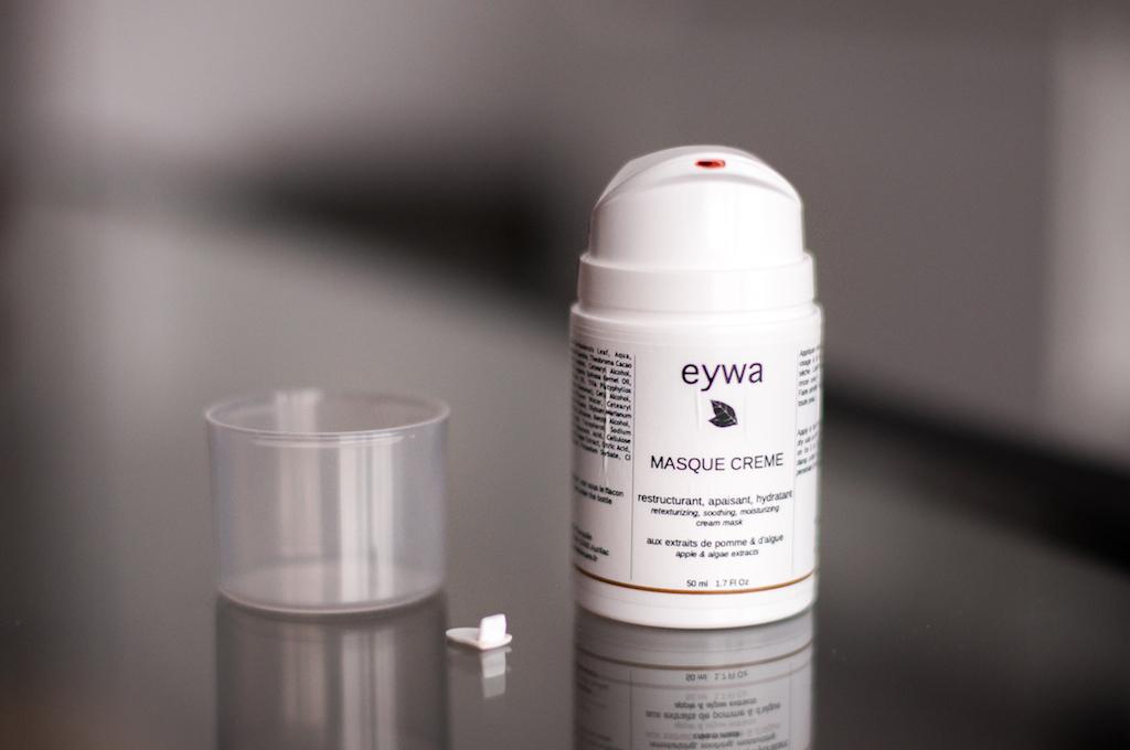 Revue masque crème Eywa