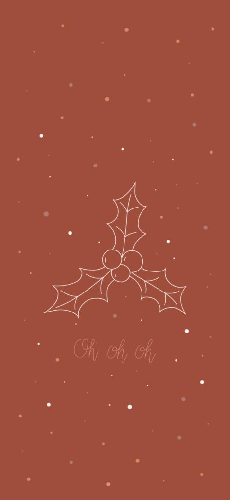 Fond d'écran Christmas Red
